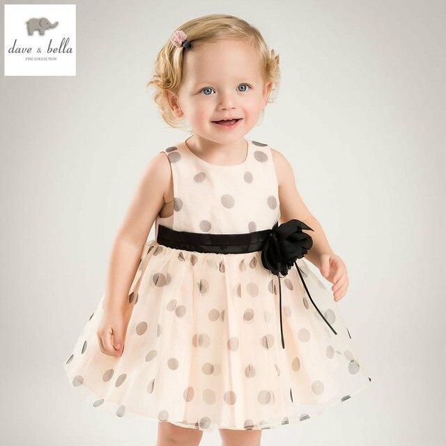 1b73dad07f9 DB5466 dave bella summer baby girl princess dress baby flower ball gown  wedding dress kids birthday clothes dress girls costumes