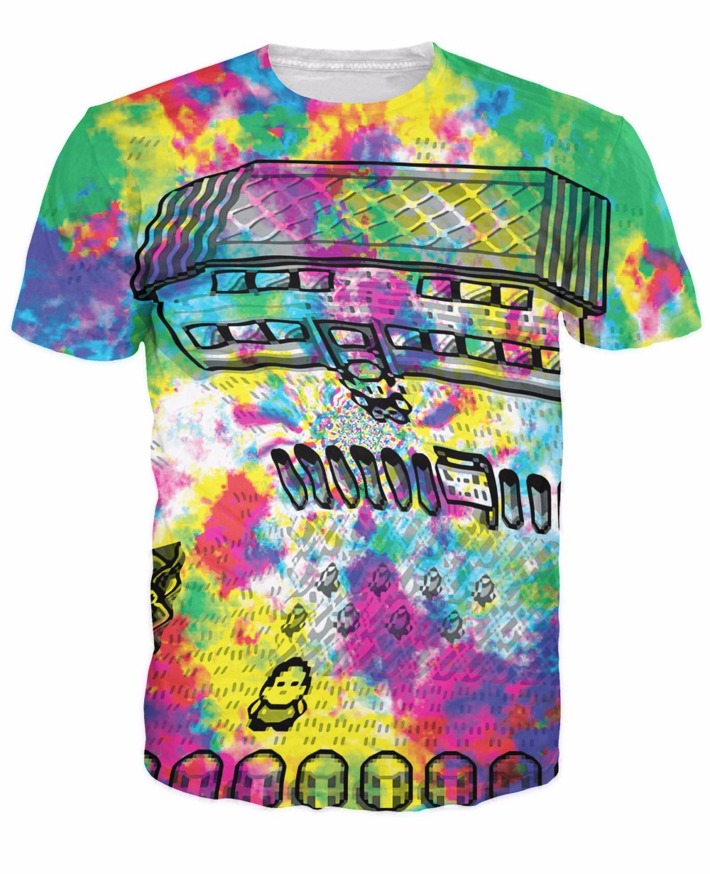 Pallet town acid trip t shirt pokemon boring place trippy for T shirt printing place
