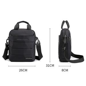 Image 5 - Man Classic Messenger Bag Mens Multifunction Shoulder Bags Nylon Business Wallet Bag For Men Simple Handbags XA259ZC