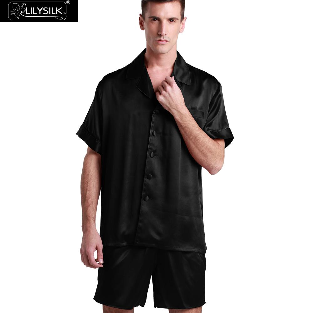 Online Buy Wholesale mens silk pajamas from China mens silk ...