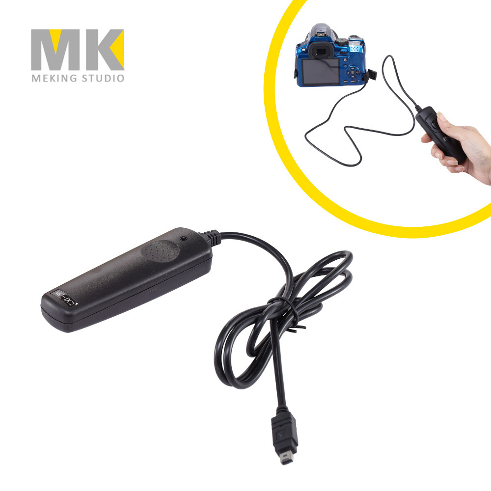 Selens MC-DC2 Cable Shutter Release Timer Remote control trigger for Nikon D90 D5100 D5200 D3100 D3200 D7000 D7100 D600 2 5mm remote shutter release cable connecting for nikon df d750 d7100 d5500 d5300 d3200 d3300 d600 d610 d90 as 3n n3 dc2 cable m