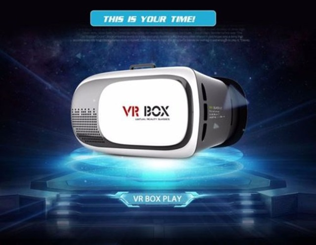 Moonbro Segunda Generación VR CAJA 3D Gafas para 3D