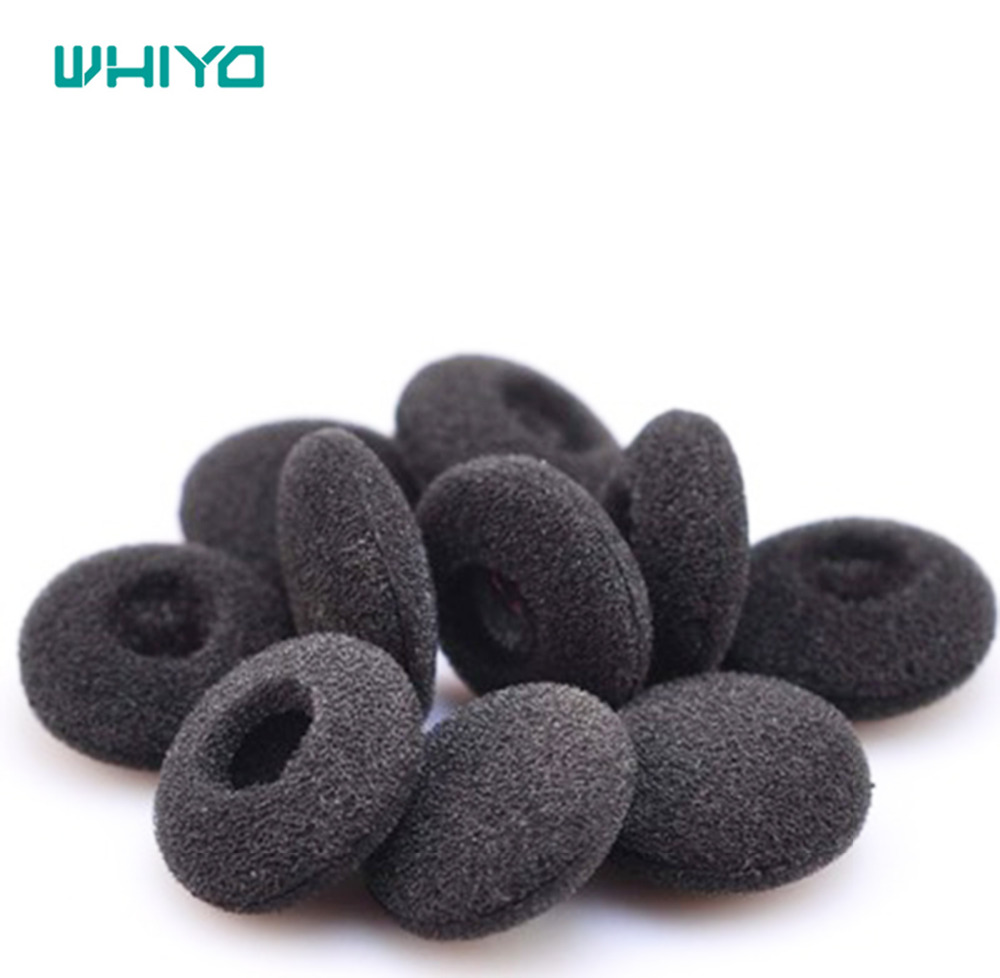 Whiyo 10 Pair of Replacement Earbud Tips Soft Sponge Foam Cover Ear pads for <font><b>Sennheiser</b></font> MX170 <font><b>MX</b></font> <font><b>170</b></font> Headphones Earphones image