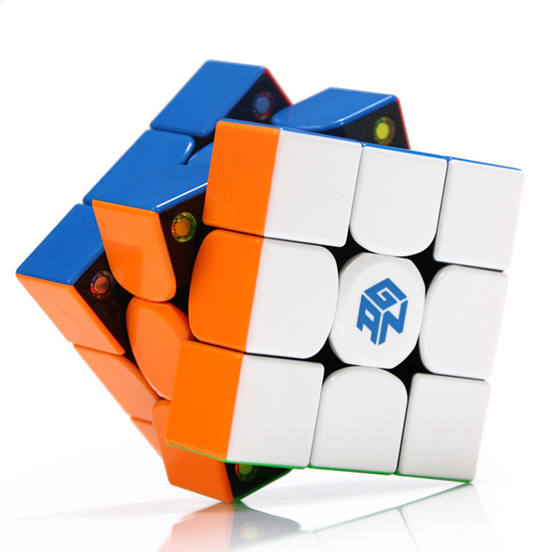 Gan 354 M Puzzle magnétique magique vitesse Cube 3x3 sans bâton professionnel Gan354 aimants vitesse Cubo Magico 354 M jouets pour enfants
