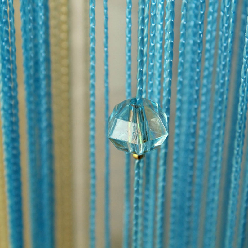 Decor String Line Curtain Tassel Window Panel Room Divider Yarn String Strip Tassel Drapes for Living Room 2018