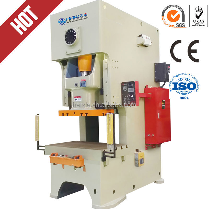 HARSLE Brand metal stamping press with pneumatic clutch, Pneumatic Punch  Press
