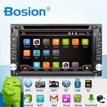 En Dash Android 6.0-CPU Doble 2 Din Car radio GPS Navi DVD reproductor Estéreo Headunit Video BT Car CD de la PC WiFi 3G de coches de estacionamiento