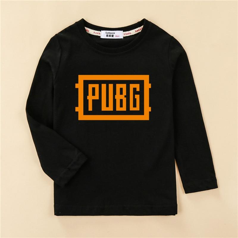 Cool Playerunknown S Battlegrounds T Shirt Large Size: Children PUBG Logo Tshirt Teen Boy PLAYERUNKNOWNS