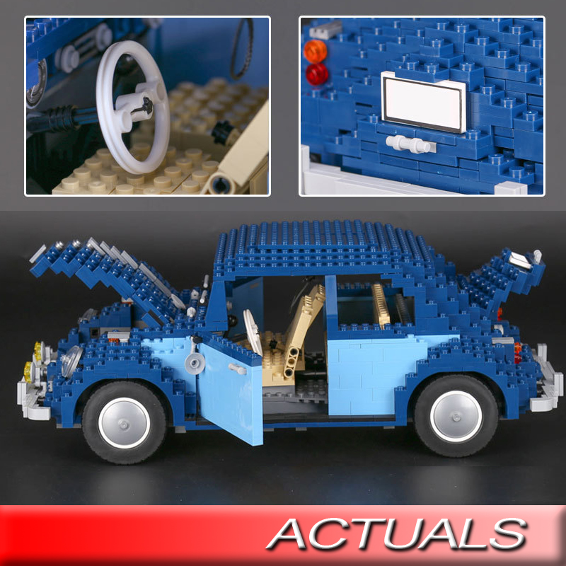 Lepin 21014 Beetle Building Blocks Compatible With Lego 10187 The