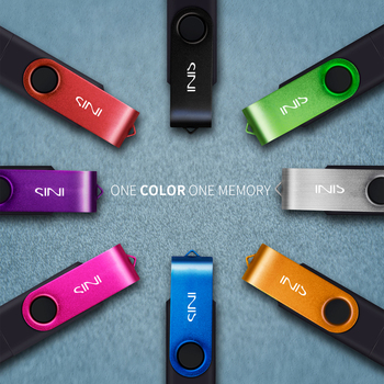 SINI OTG USB flash Drive 4Gb 8g 16gb 32gb 64gb 128gb cle usb flash metal usb 2.0 memory stick pendrive for android smart phone