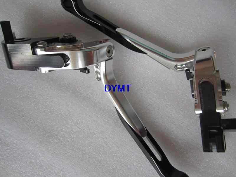 first quality Stretched Foldable Hand Lever for Kawasaki Zx6r 1996 94 - 97 Motorcycle Lever 6 colors Option competition