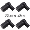 4PCS Rear Parking Sensor PDC Assist Fits 2003-04 Nissan Armada Titan 25994-7S200 259947S200 259947S10A 25994-7S10A