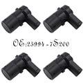 4PCS Rear Parking Sensor PDC Assist Fits 2003-04 Nissan Armada Titan 25994-7S200 259947S200 259947S10A 25994-7S10A