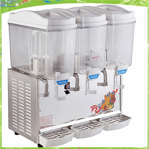 17L three cylinders hot and cold fruit juice machine for your summer best choice free ship cold drink machine commercial cylinder hot and cold drink machine fruit juice dispenser beverage machine
