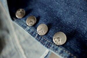 Image 5 - 90% Katoen Lente Single Breasted Casual Vesten Denim Vest Vrouwelijke Slanke Jeans Jas Zomer Mouwloze Jassen Vrouwelijke Jas
