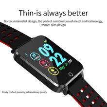 1,54 zoll high-definition-farbe großen bildschirm sport CE RoSH certificted Smart armband dynamische herz rate überwachung smart band