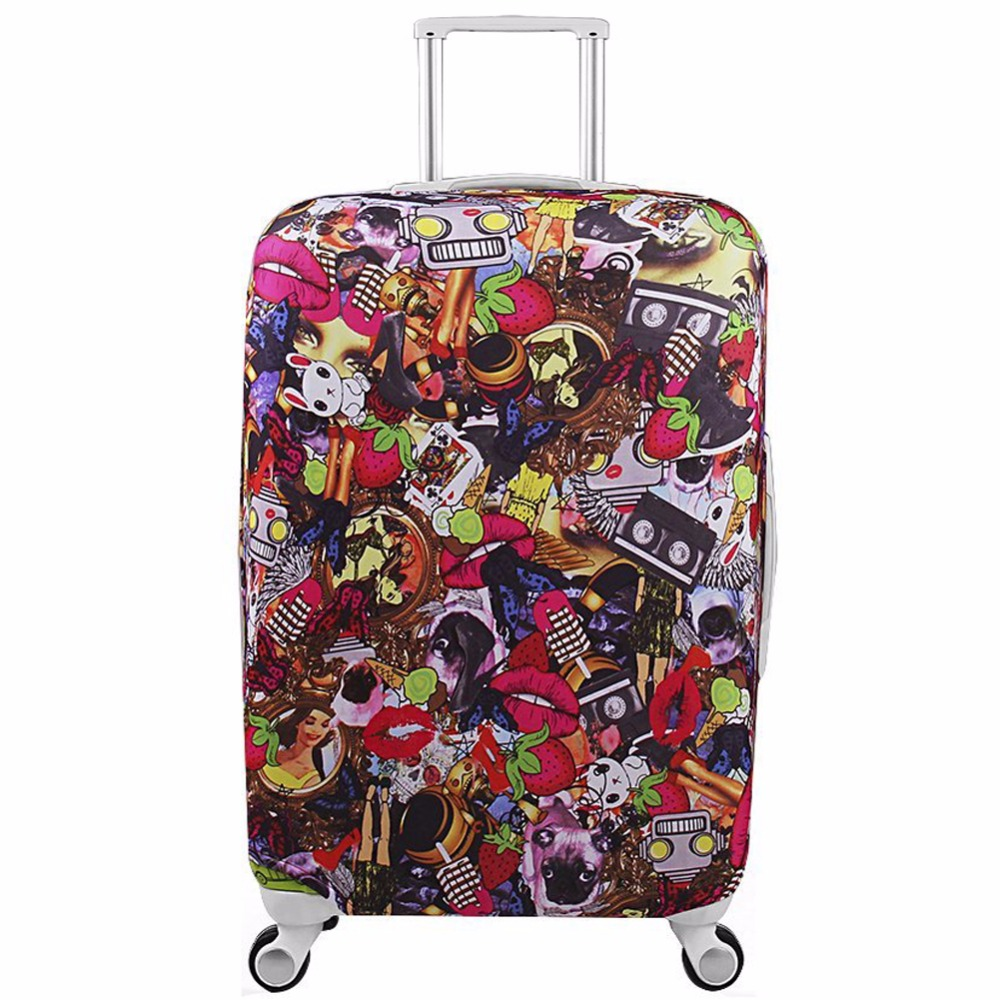 Bagage Cover Koffer Beschermhoes Reisaccessoires Koffer Case mala de - Reisaccessoires