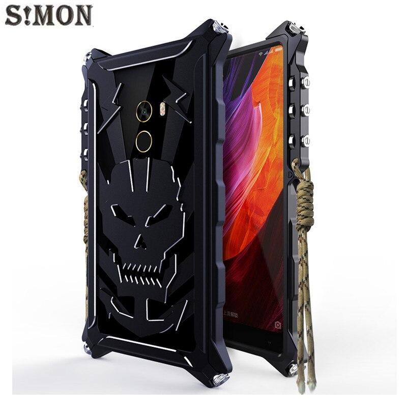 Цена за Саймон Тигра II Металл Бампер для Xiaomi Mi MIX/Mi Смешивания Pro Авиации Алюминиевый Бампер Телефон Case тактический издание
