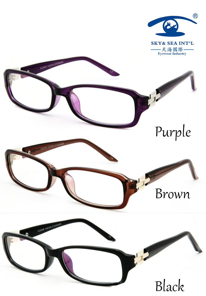 customised cheap eyeglass plain glasses computer fake acetate plastic designer glasses frames women myopia frame glasses