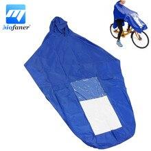 Синий/красный плащ-дождевик для мотоцикла и скутера, ветронепроницаемый ПВХ дождевик для мотоциклиста, водонепроницаемый дождевик