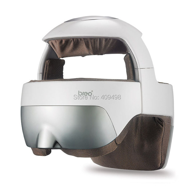 Breo HM-1 APP control intelligent rechargeable head eye massager with music