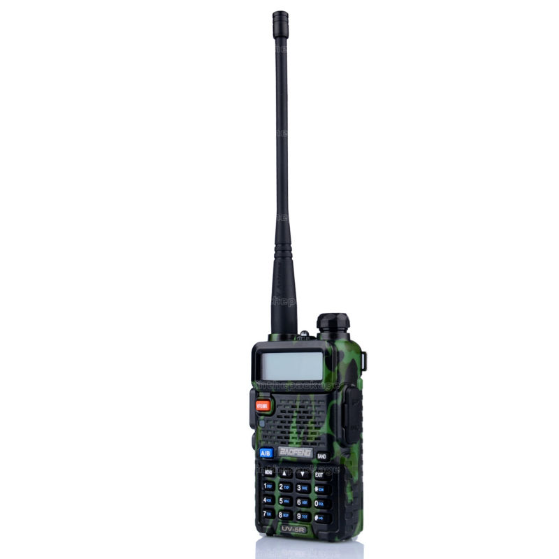 BaoFeng UV-5R talkie walkie transceiver CB radio baofeng uv5r 5W VHF UHF Dual Band two way radio (14)