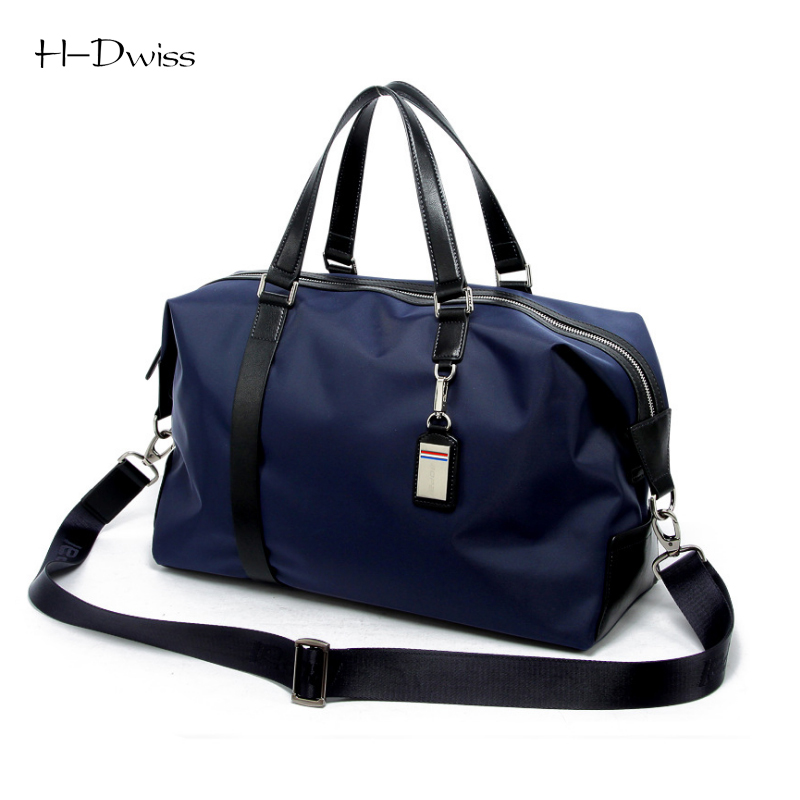ФОТО HDWISS Nylon Men Women Luggage Travel Bags Duffel Duffle Bag Carry on Hand Luggage Packing Cubes TB024