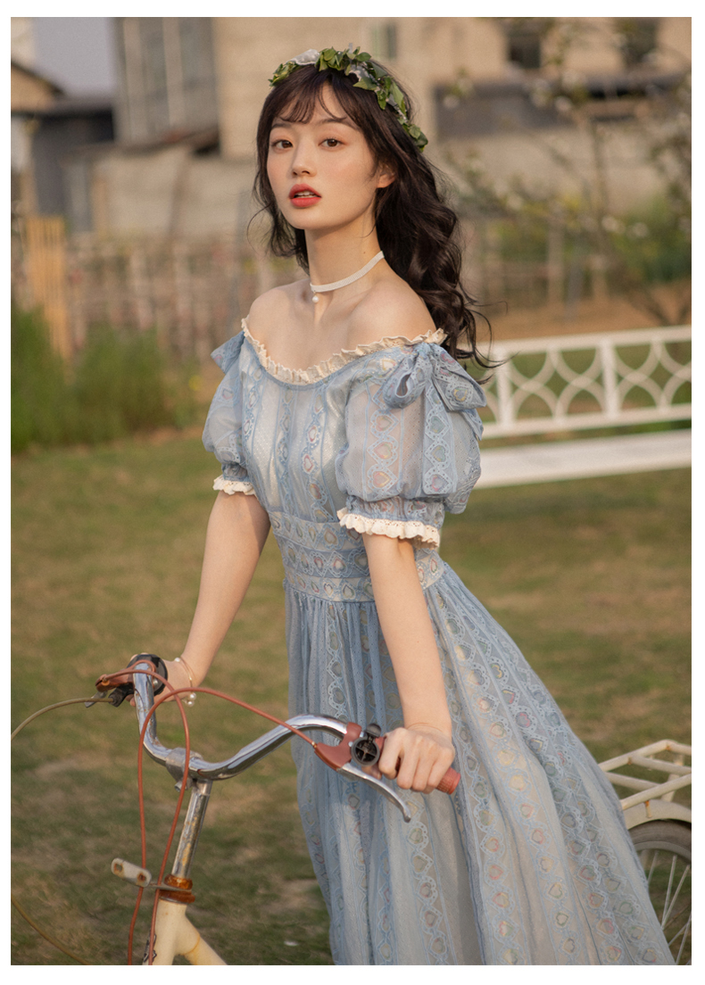 Новые модные женские платья, винтажное литературное платье, женское летнее популярное кружевное платье с вырезом лодочкой