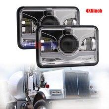45 Вт светодиодный Прямоугольный светильник Замена 4×6 квадратных море светодиодный луч 12 V 24 V светодиодный Налобные фонари H4 лампы для Chevy Camaro Iroc-Z