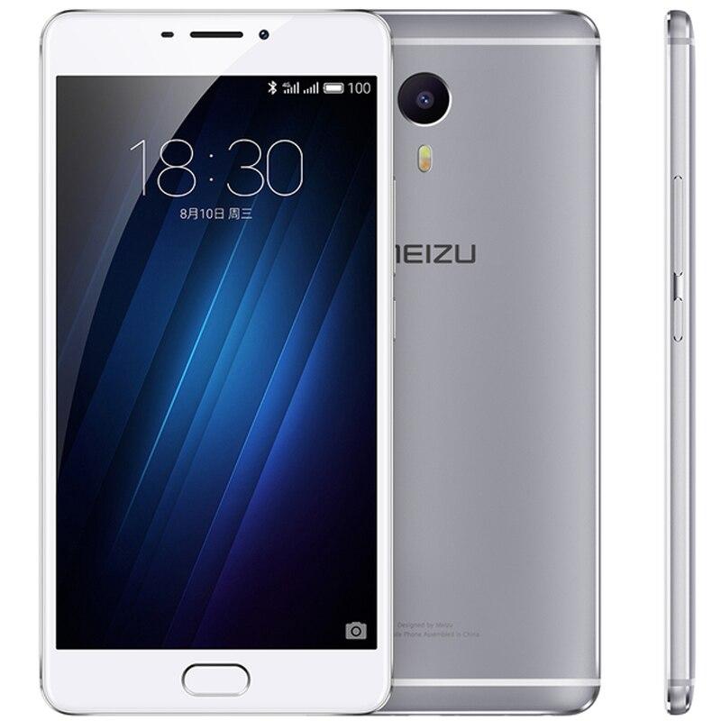 Original Meizu M3 Max Cell Phone MTK Helio P10 Octa Core 6.0-inch 1920x1080 3GB RAM 64GB ROM 13MP Camera Fingerprint ID