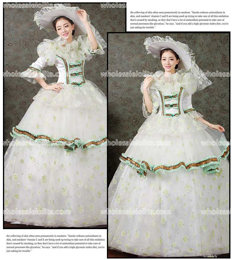 Hot Sell Civil War Victorian Rococo Prom Dress/Holiday Dress-in Prom ...