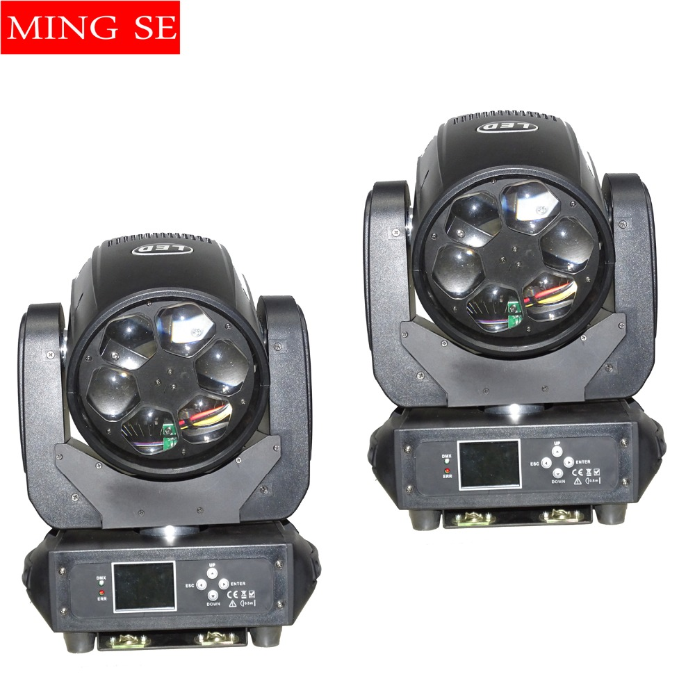 2pcs/lots LED Super Beam 6x40W RGBW 4in1 LED ZOOM moving head beam light bee eye for Bar led stage lighting dmx dj lights 6pcs lot dj lights cree 9pcs 15w sharpy beam light 4in1 rgbw moving head beam led light extend robot rotating dmx stage light
