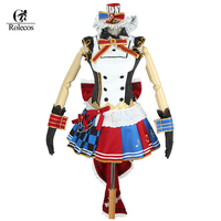Vente chaude Japonais Anime Love Live Cosplay Maid Réveil Kotori Minami Cosplay Costume Ensemble Complet