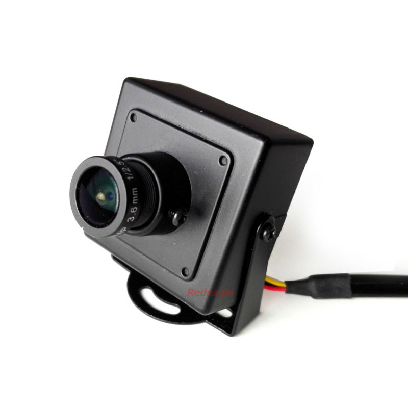 Mini CCTV 2.0MP 1080P AHD Security Camera with 3MP HD 3.6mm Lens Metal Case IMX323 CCD