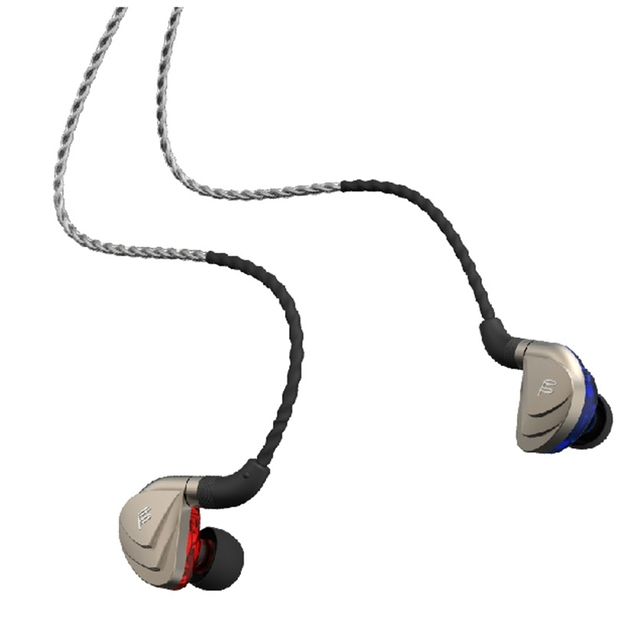 Fidue A83 Dynamic HiFi Hi-End In-Ear Earphone Unique three Unit with Microphone, Noise isolation earphone 3