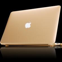 Nouveau Mat Métal Couleur Dur Portable Cas pour Macbook Air 13 11 Nouveau Macbook Pro 13 15 Avec Retina Display Case Couverture