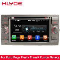 KLYDE Octa Core 4G WIFI Android 8.0 4GB RAM Car DVD Player Stereo For Ford Focus Mondeo Kuga Fiesta Transit C MAX Galaxy S MAX