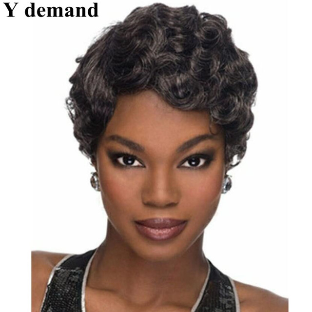 Hot Sale Hair Products Short Pixie Cut Style Afro Wig For Women