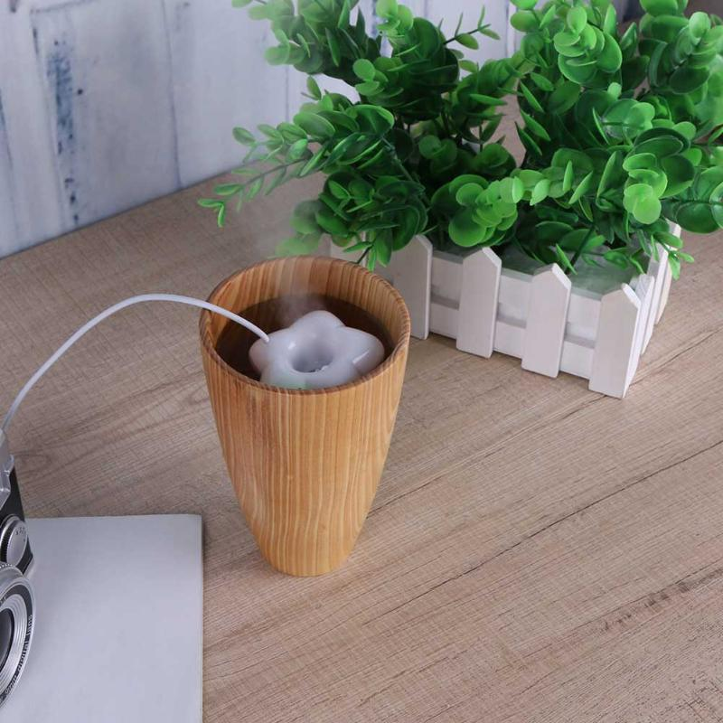 USB five-pointed Star Shape Ultrasonic Humidifier Mini Mist Maker Air fogger Office Moisture Diffuser For Home Desktop кран itap шаровый 3 ходовой 3 4 вр тип l 128 3 4 l