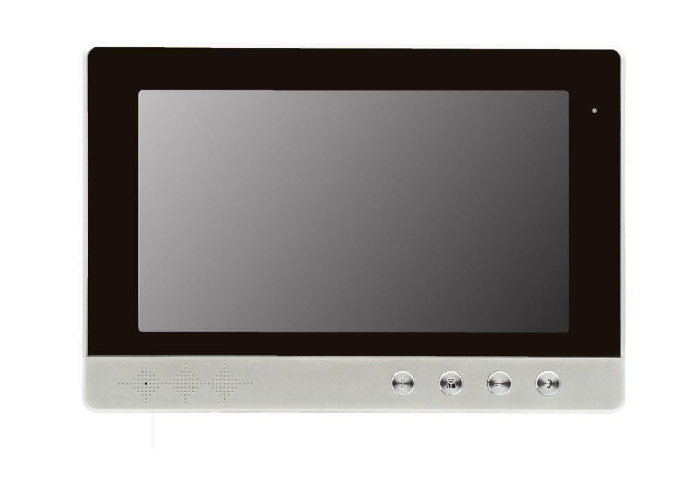 Yobangsecurity Видеодомофоны Мониторы 10-дюймовый видео Дверные звонки Камера Системы домофон доступа Системы для 2 единицы квартира