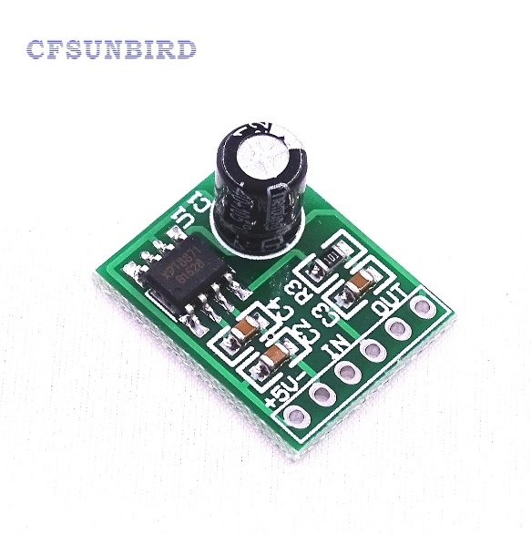 DC 5V Mini Mono Audio Amplifier Board Stereo Single Channel USB Amplifier Module Single Sound Track Amplifier XTP8871 dc 5v bluetooth audio receiver module usb tf sd card decoding board preamp output support fat32 system
