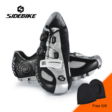 Sidebike New Men Outdoor Bike Cycling Shoes MTB Mountain Bike Bicycle Shoes Athletic Sports Riding Shoes Sapatilha