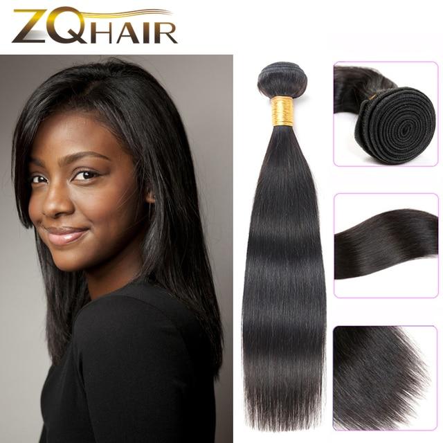 Queen Straight Brazilian Hair 1 Bundle Brazilian Human Hair Sew In