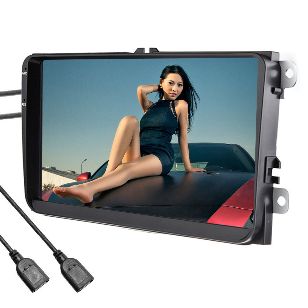 Touch Screen 9 Inch Multimedia Bluetooth WIFI Car Navigator Radio MP5 Audio Player GPS Reversing Camera Video RDS European Map