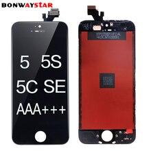 Продажа ЖК-дисплей Экран для Apple iPhone5/5C/5S/SE Дисплей ЖК-дисплей Сенсорный экран планшета Ассамблеи Замена для i5 i5s pantalla ЖК-дисплей AAA + + +