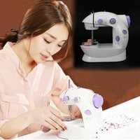 Multifunction Electric Mini Sewing Machine Motor Household Desktop With Built in Sewing Light Foot Pedal Sewing Parts Machines