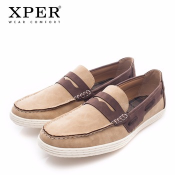 Leather Loafers Men by XPER 1