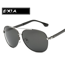 Polarized Grey Sunglasses Lenses with Anti-reflective Coatings EXIA OPTICAL KD-8116 Series