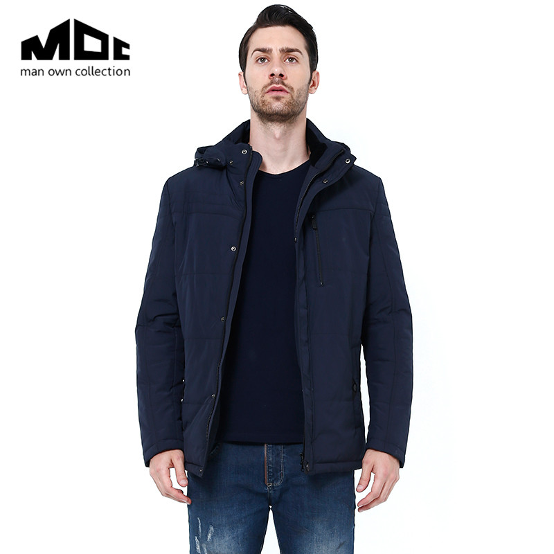 ФОТО 2016 Men's Spring Winter Jacket Men Cotton Coat Outwear Windbreaker Men High Quality Chothing MOC Brand Warm Jackets and Coats