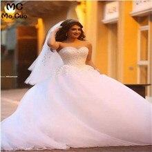Puffy 2018 robe de mariage Ball wedding dress Bridal Gown